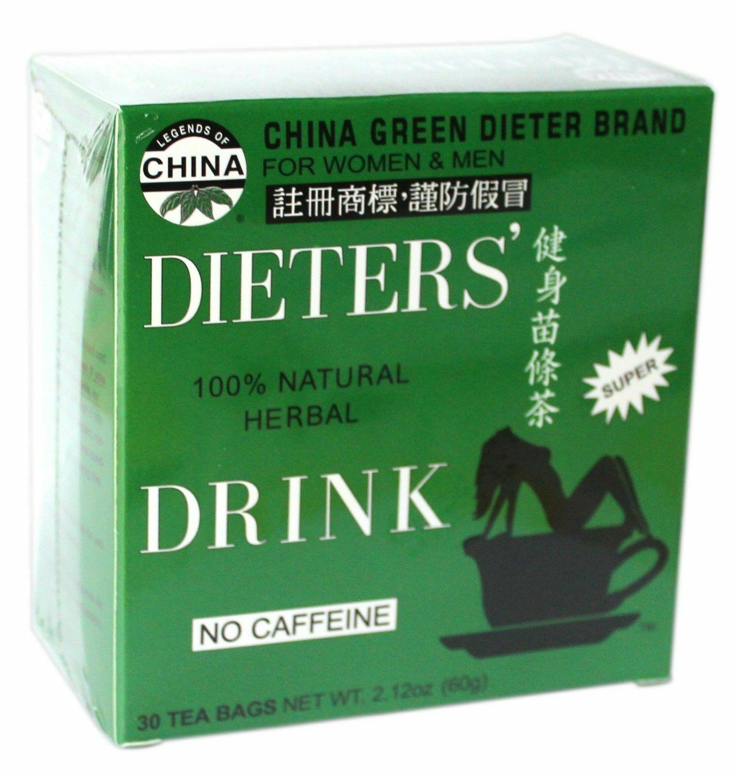 Uncle Lee Dieters green slim tea 3