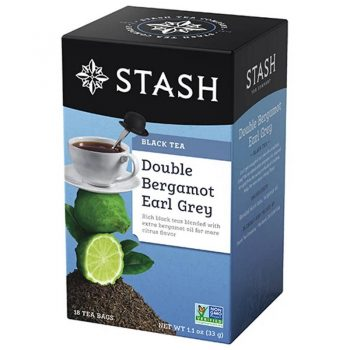 Stash Tea Black double Bergamot Earl Grey Tea