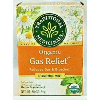 tradional medicinals organic gas reflief