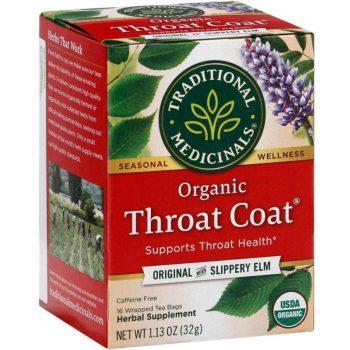 tradional medicinals organic throat coat
